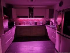 Küche beleuchtet