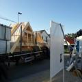 Vobereitung Abladen des ersten LKWs