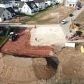 Bodenplatten Bereich fertig (Süd Blick)