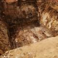 Die Gruben tiefe
