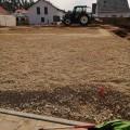 Bodenplatten Bereich verdichten
