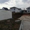 Das Baustellenschild vom Kübler ist da